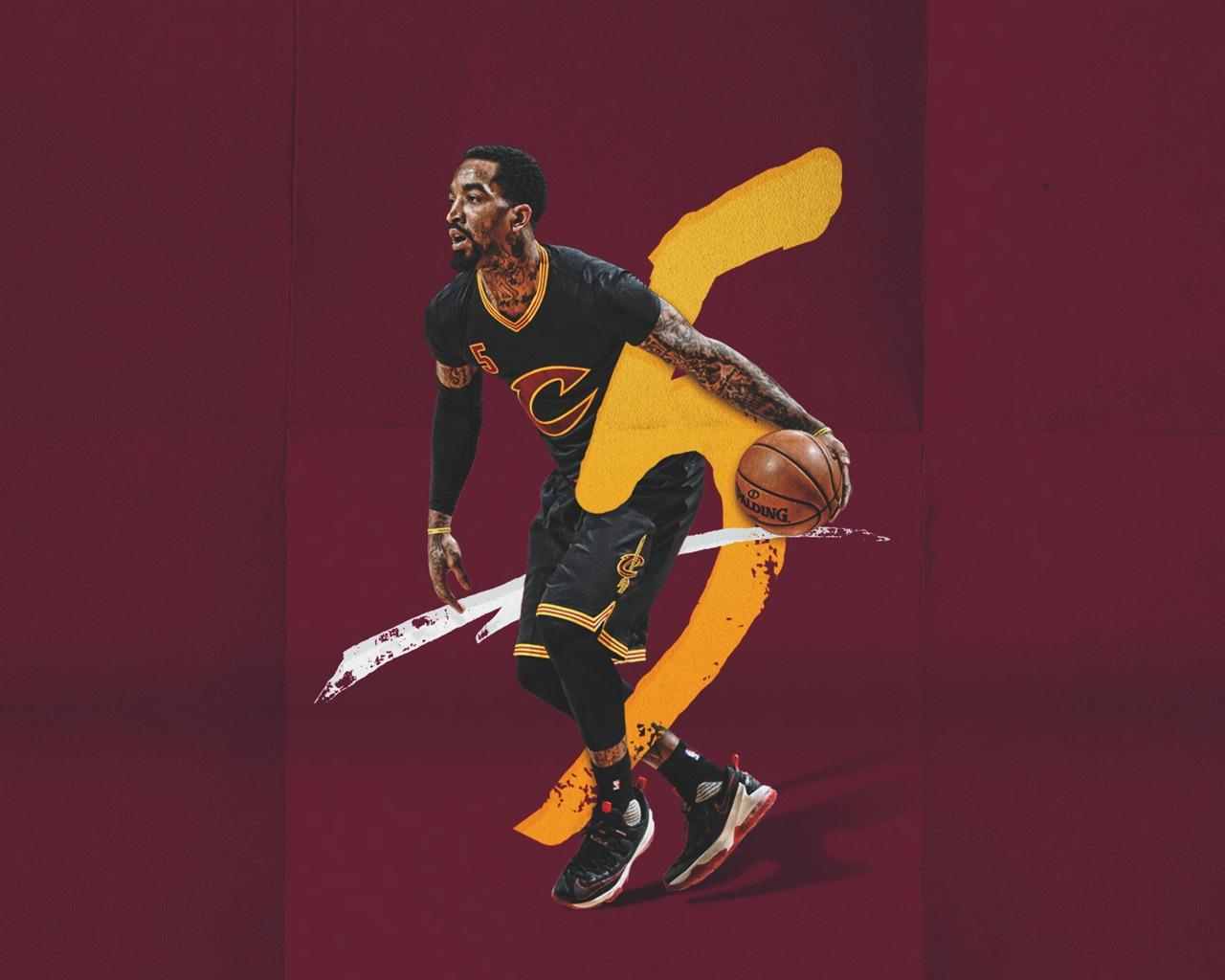 2017年克利夫兰骑士壁纸预览 10wallpaper.com | J.R.史密斯 NBA
