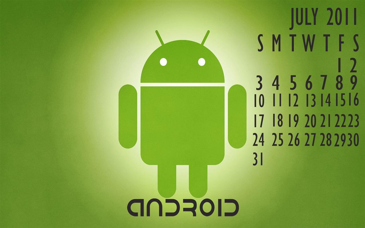 Calendar Wallpaper For Android : Android calendar logo robotics desktop wallpapers view