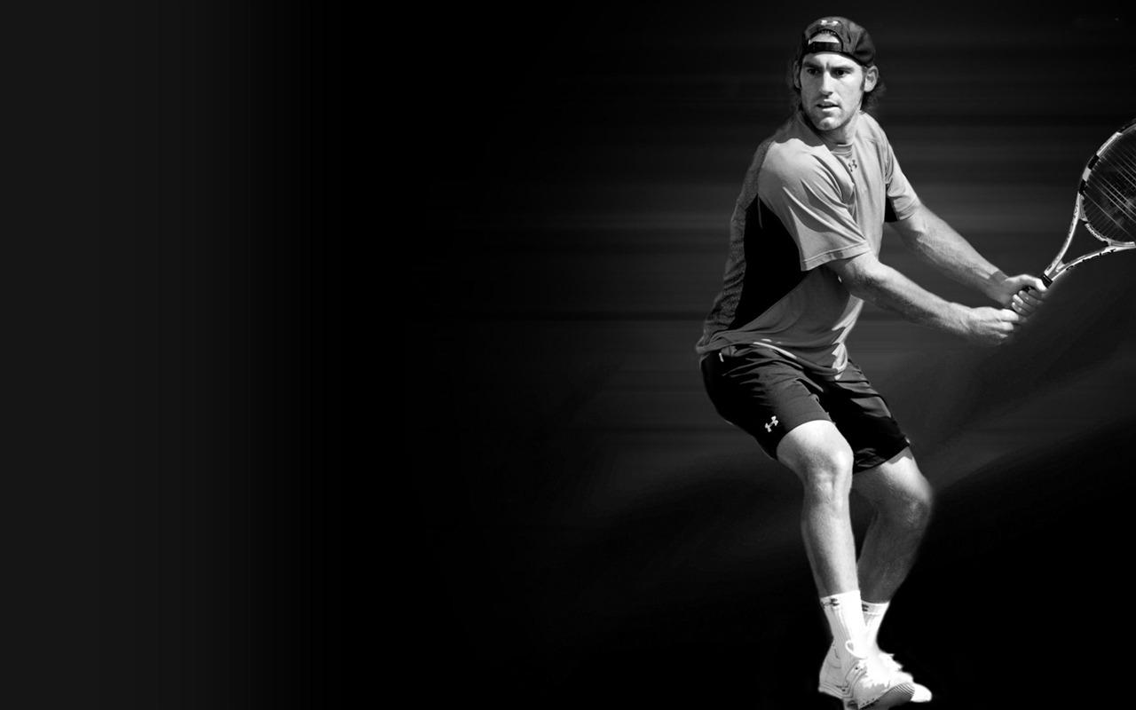 Sports Wallpaper Hd Black: Robby Ginepri-テニススポーツ壁紙プレビュー