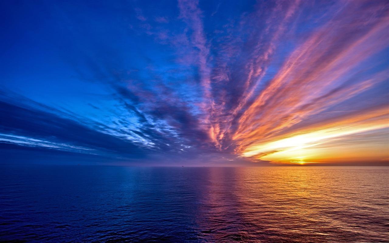 Spectacular sunset nature hd wallpaper preview - Spectacular wallpaper ...