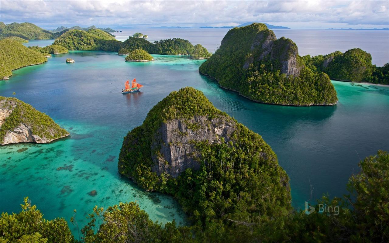 Vanaugh Island Raja Ampat Islands Indonesia 2018 Bing