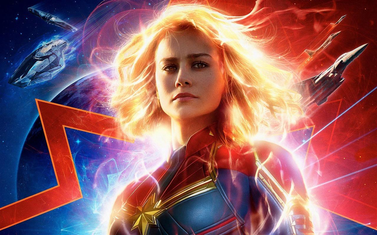 Capitão Marvel, 2019, Filme, HD, Poster Visualização
