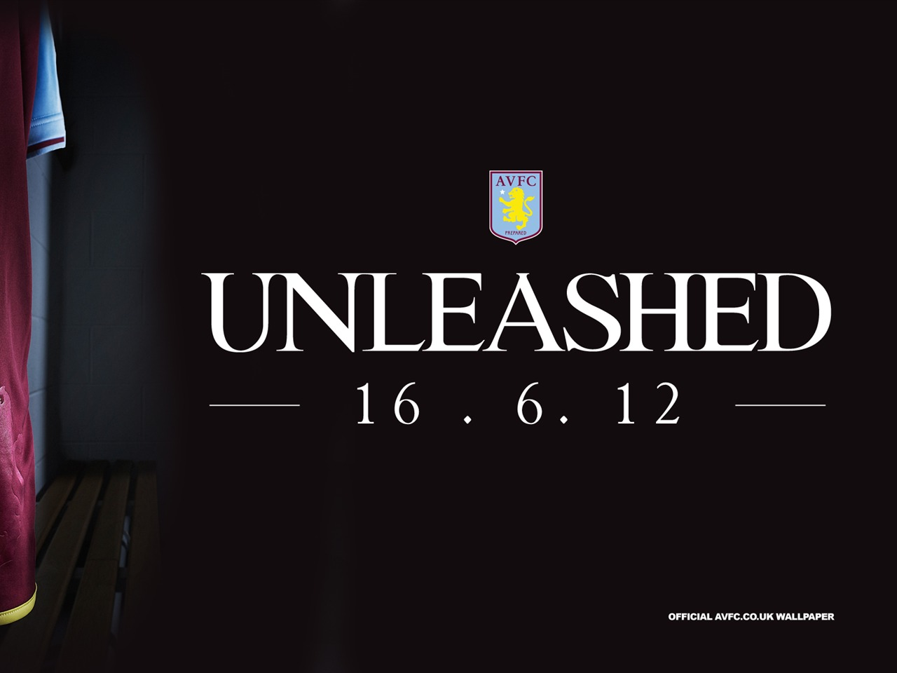 2012-13 Ready To Be Unleashed-Aston Villa 2012 Wallpaper