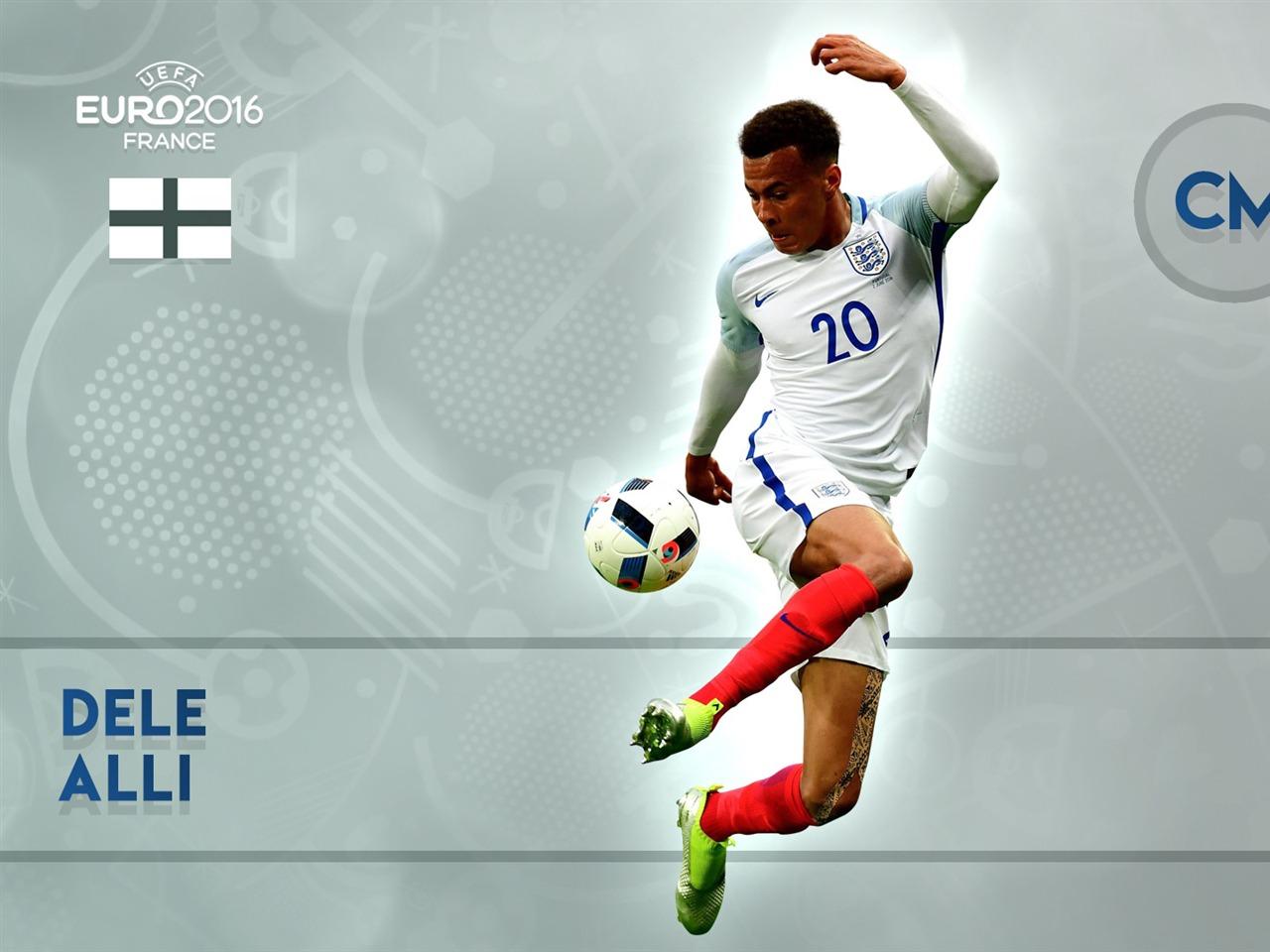 Dele Alli-UEFA Euro 2016 Player Wallpaper Preview