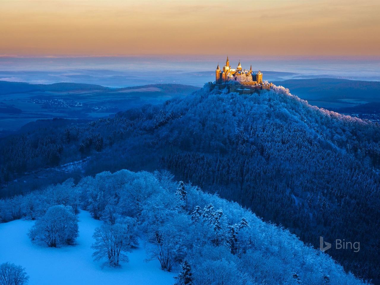 Germany Hohenzollern Castle Near Stuttgart 2017 Bing