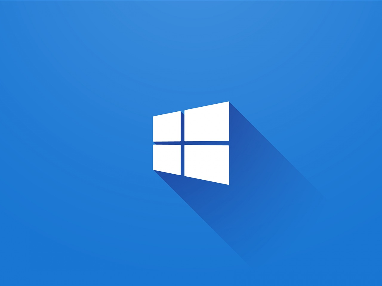 windows 10 logo 2010 blue desktop preview