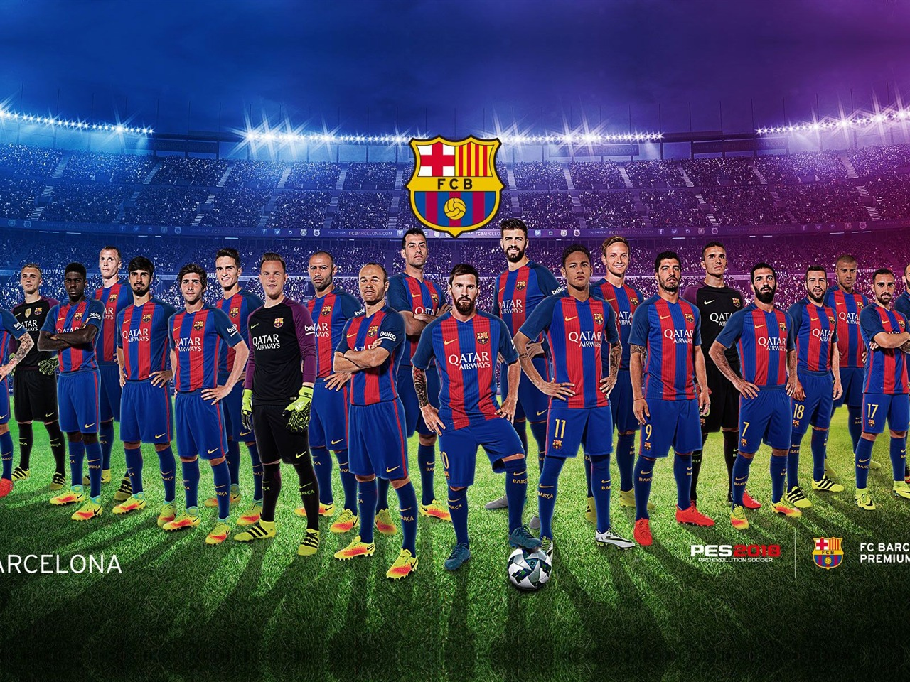 巴塞罗那美女壁纸_巴塞罗那足球俱乐部,团队,摄影,2019,海报预览 | 10wallpaper.com