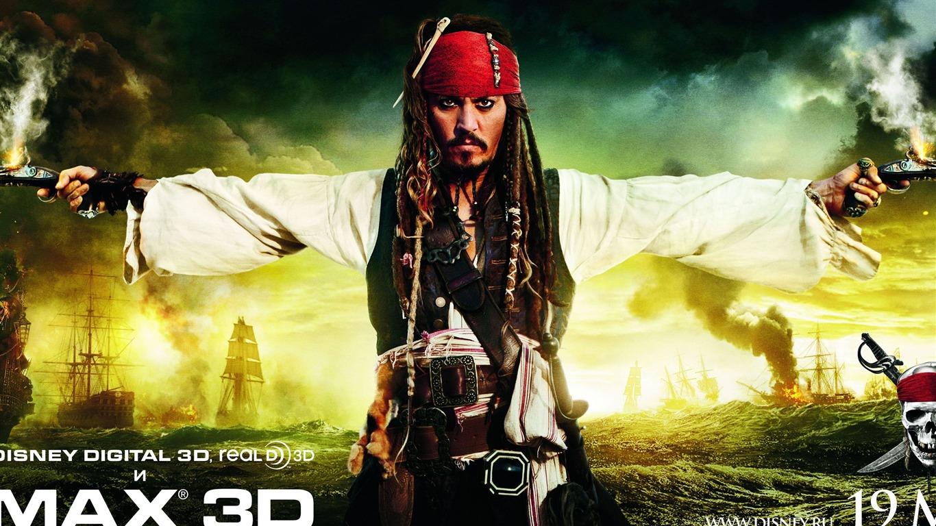 2011 Pirates Moive De Lwallpaper Caraïbes Fontaine De
