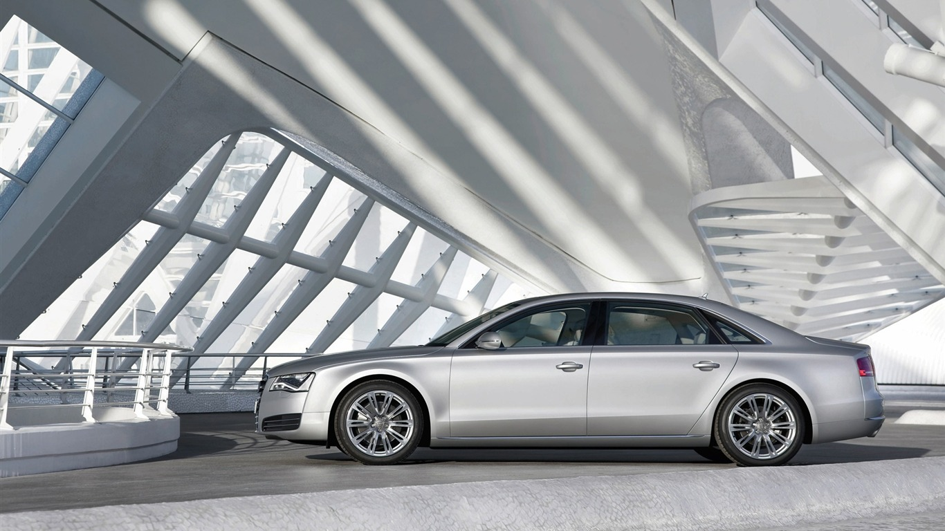 Coches alemanes Audi A8L HD Wallpapers 18