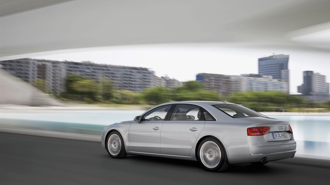Coches alemanes Audi A8L HD Wallpapers 24