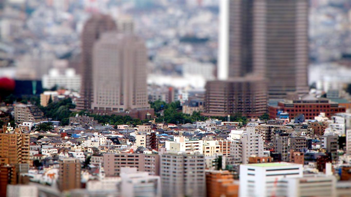 ミニチュア都市シフト写真撮影の壁紙プレビュー 10wallpaper Com