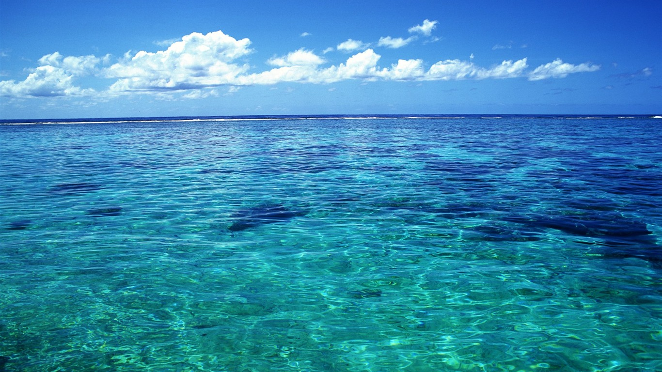 Tahiti_crystal_clear_sea_water_wallpaper