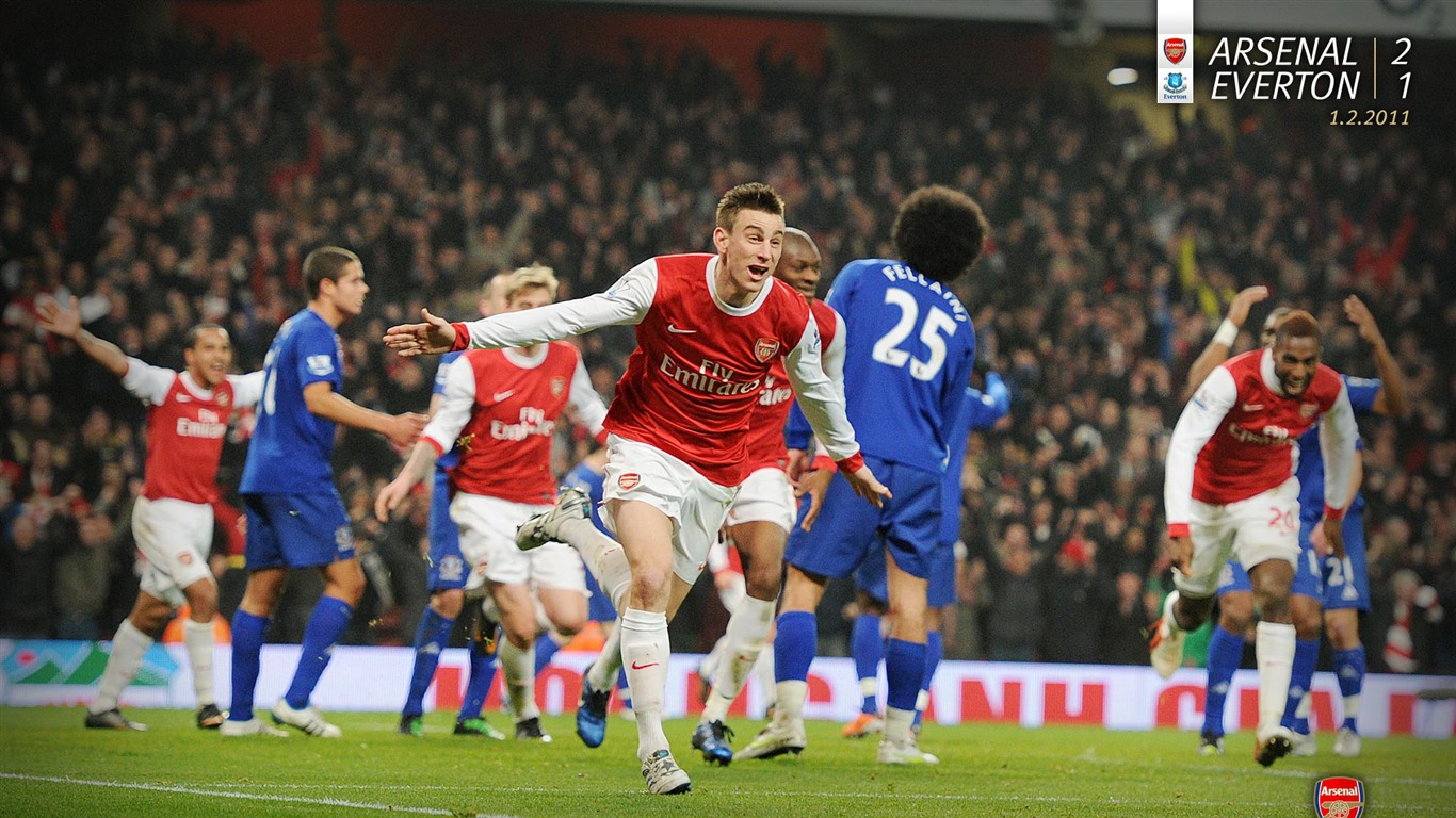 Arsenal_2-1_Everton_Wallpaper2011.7.11