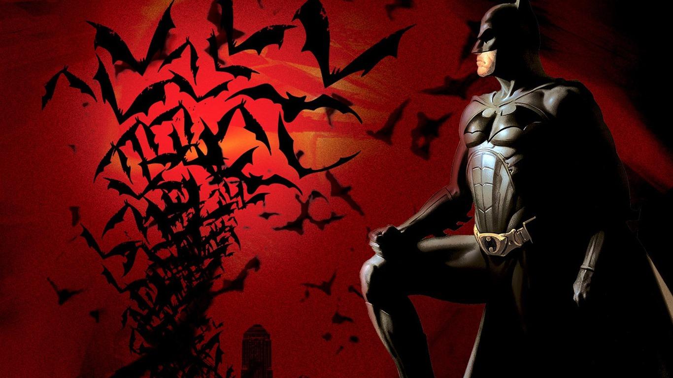 Batman begins game wallpaper 1366x768 fond d cran t l charger - Telecharger batman begins ...