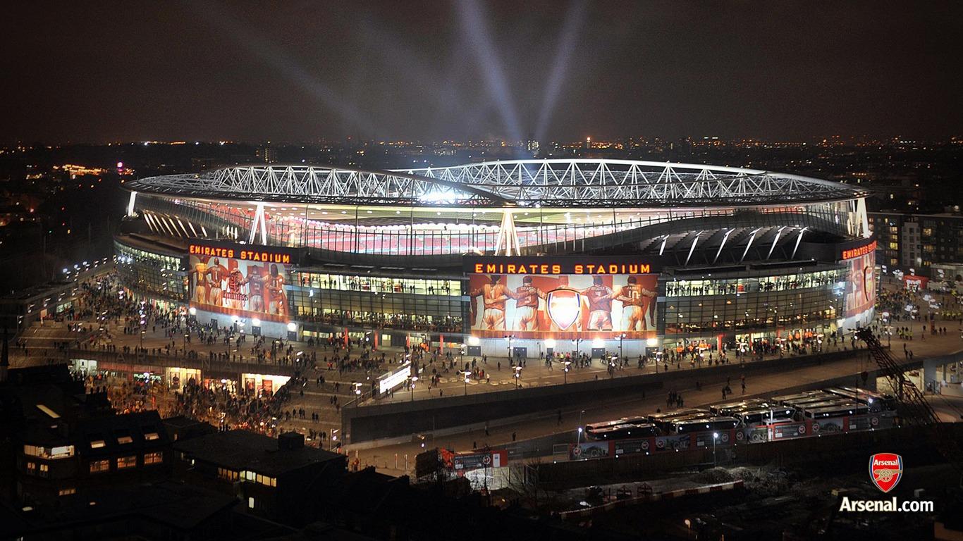 Dallas Auto Show >> Emirates Stadium light show wallpaper Preview   10wallpaper.com