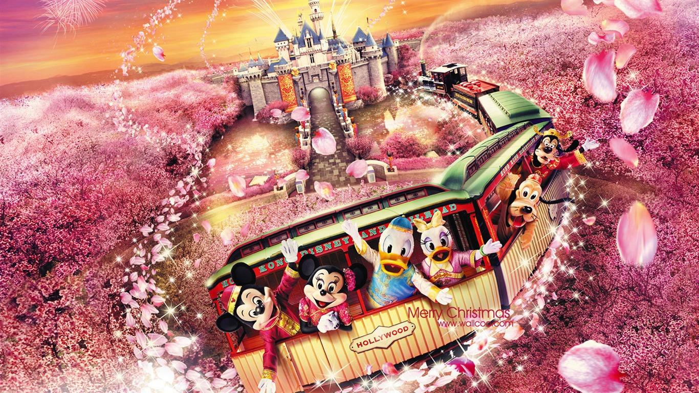 幸福エクスプレス香港ディズニーランドの漫画の壁紙プレビュー 10wallpaper Com