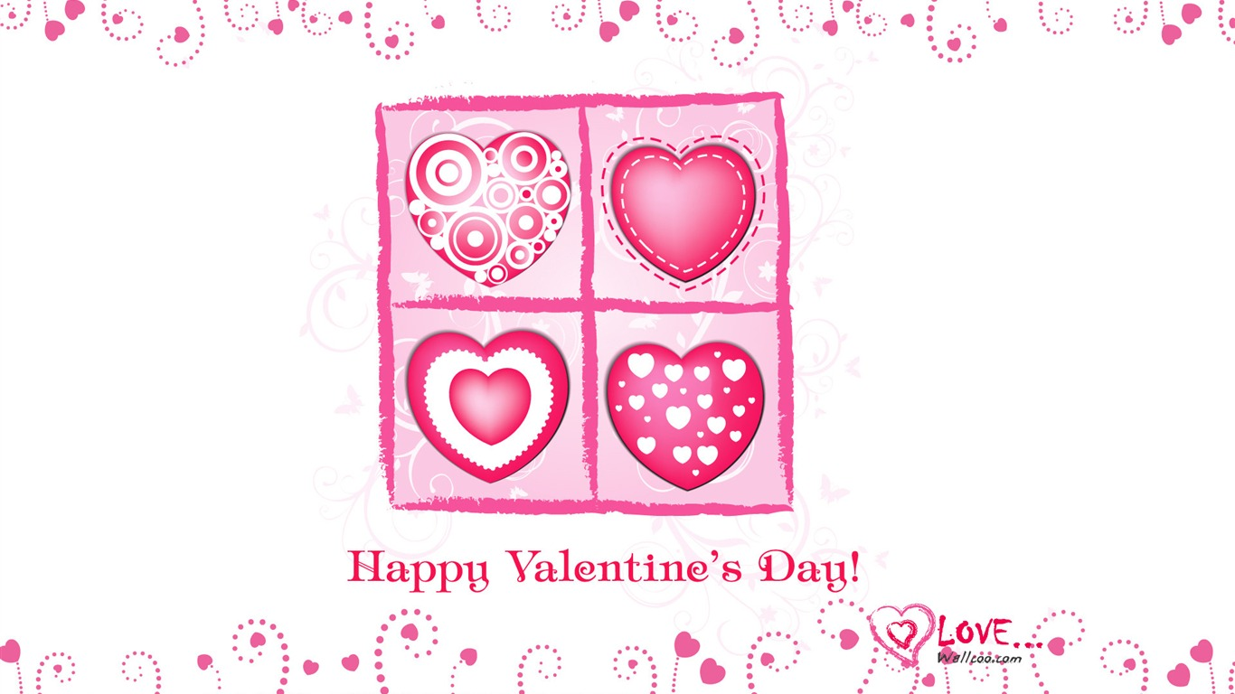 Lovely_Valentines_Day_illustration_-_Valentines_Day_heart-shaped_design_wallpaper