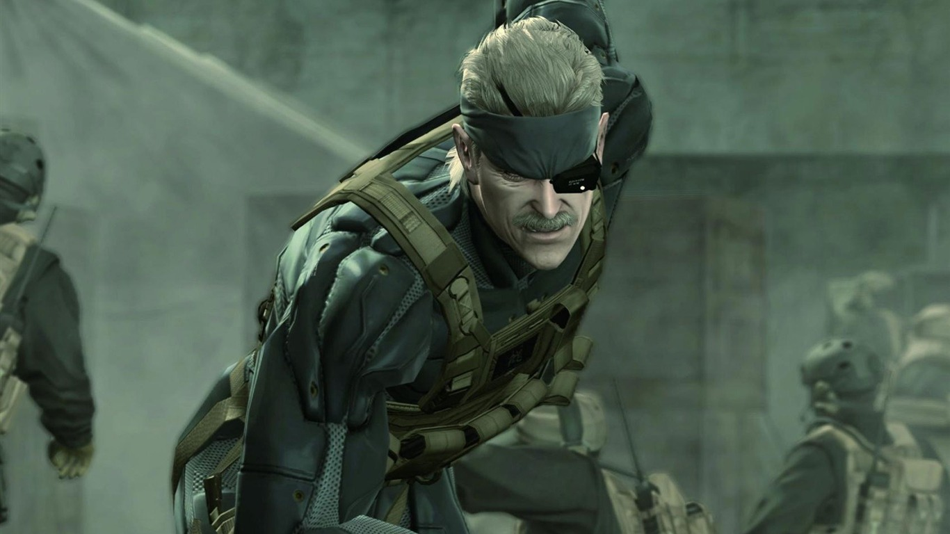 Metal Gear Solid 4 Guns Of The Patriots Wallpaper 08 Preview