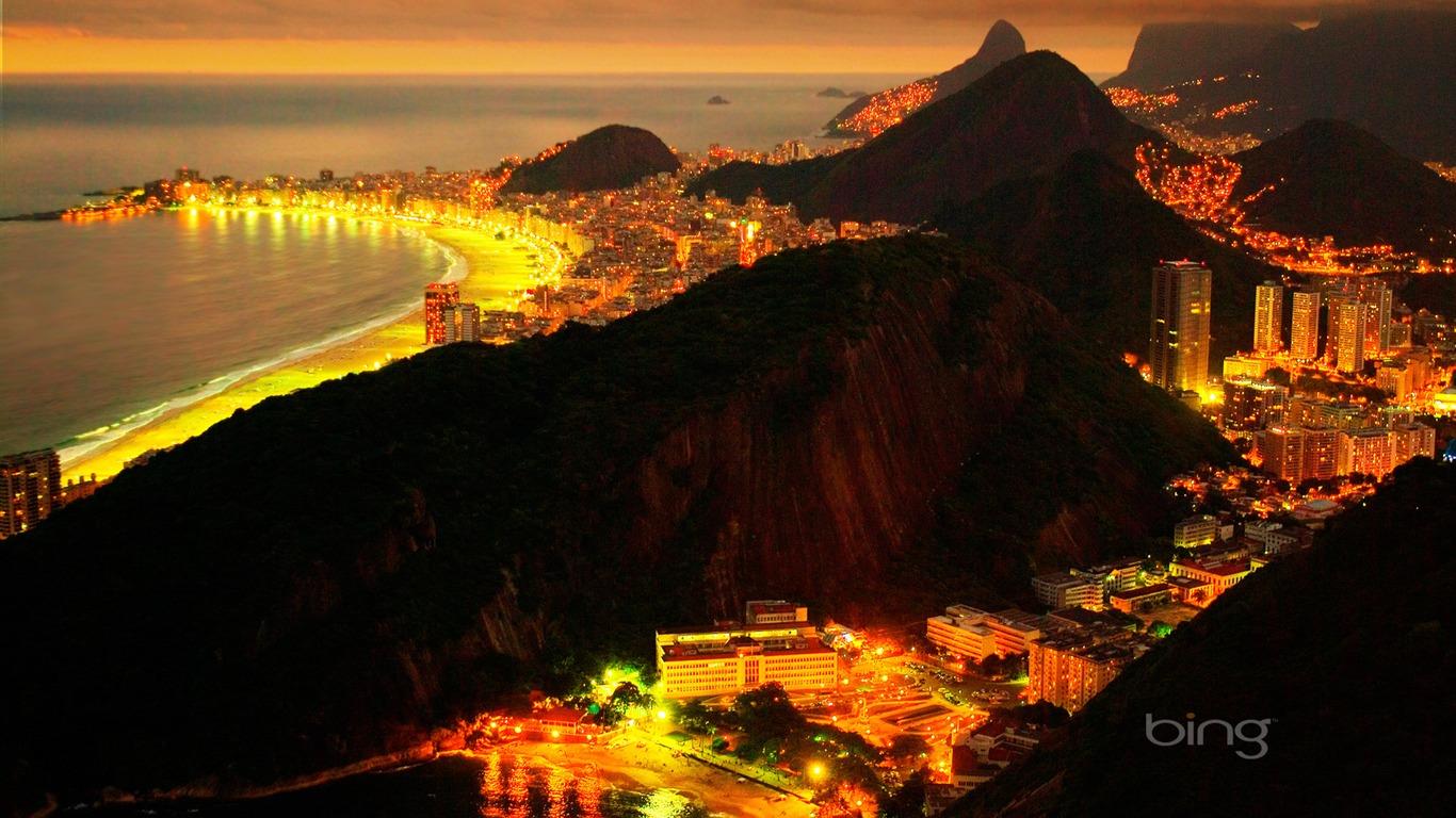 Rio De Janeiro Brazil At Night Preview 10wallpaper Com