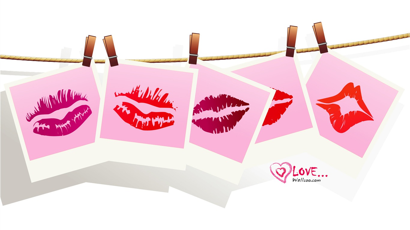 Valentine_Kiss_-_Valentines_Day_heart-shaped_design_wallpaper