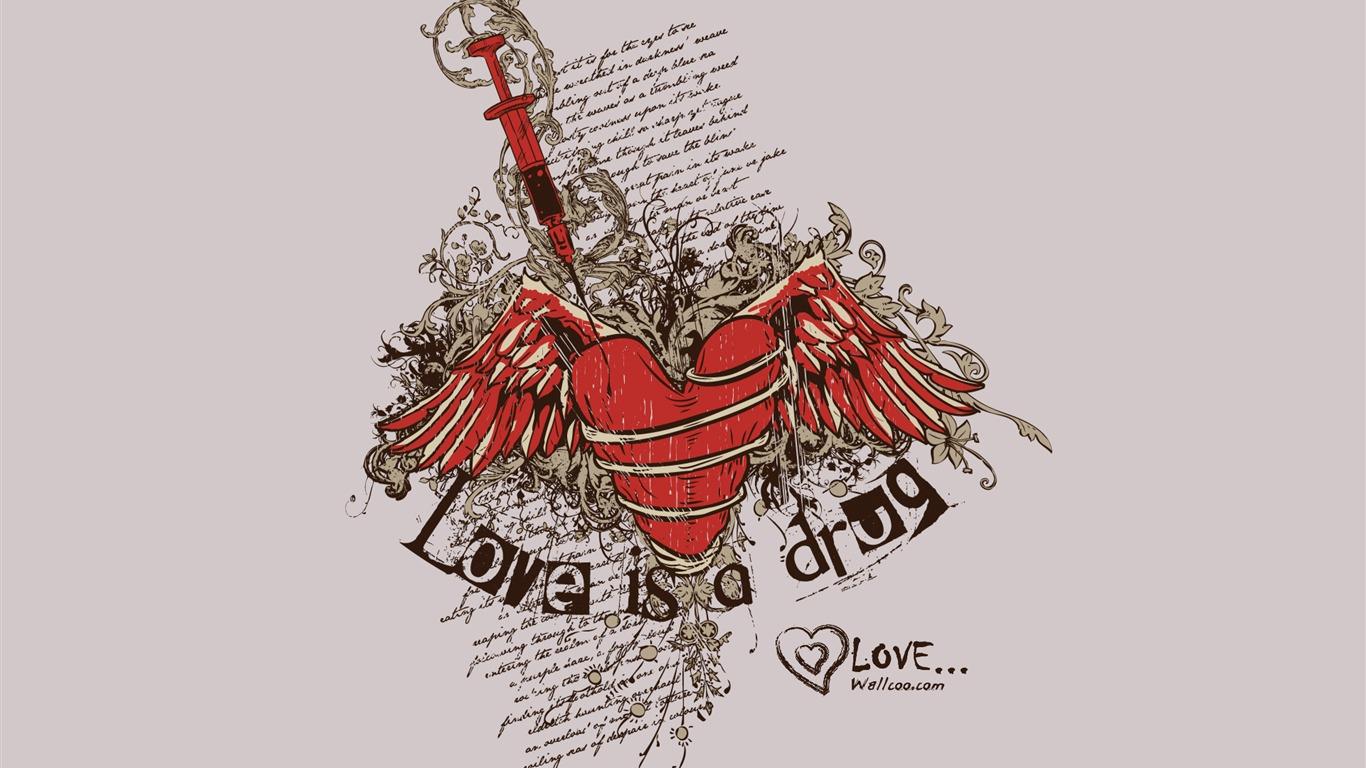 Diseño De Tendencia Valentines Day Valentines Day