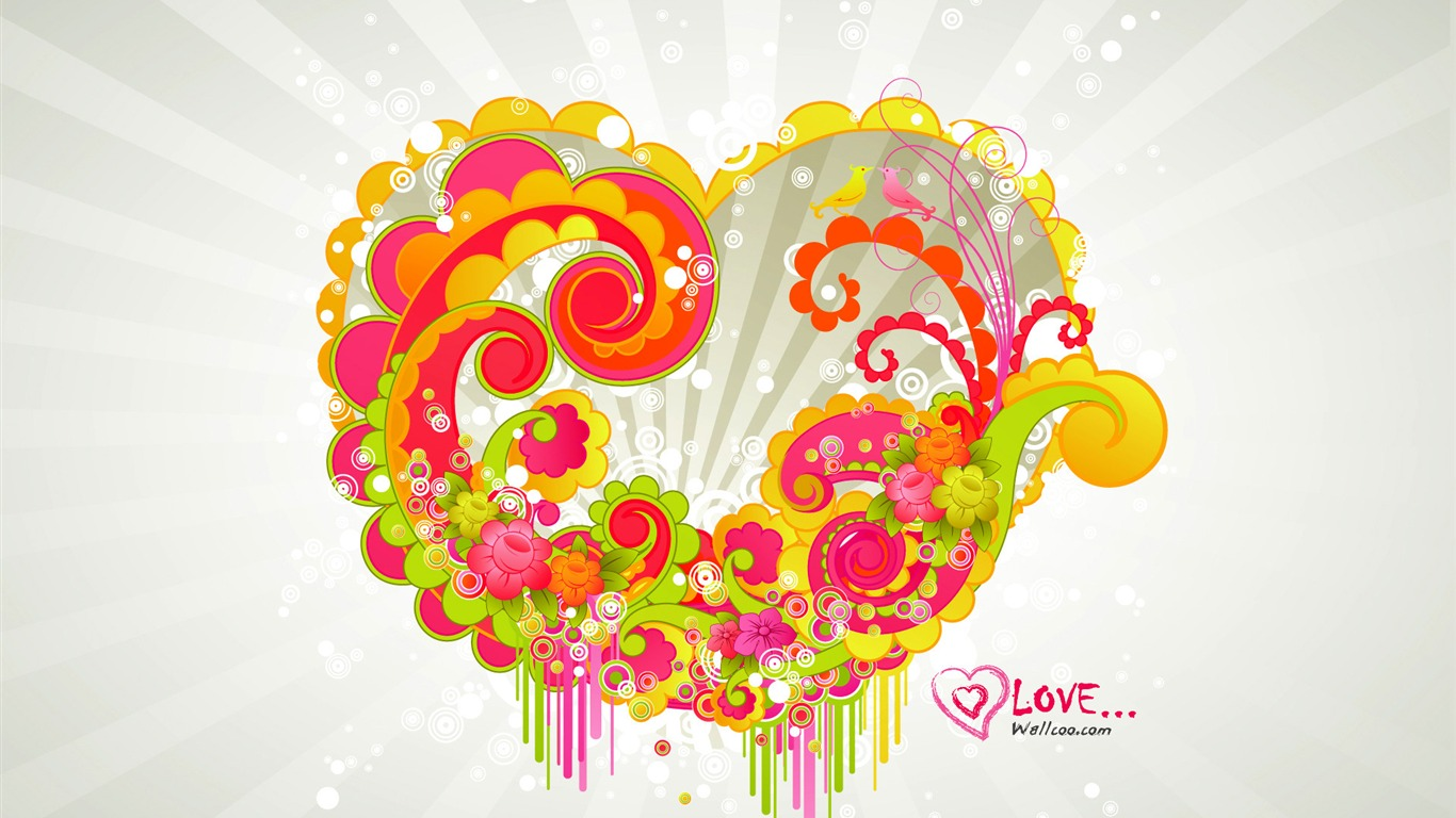 beautiful_love_-_Valentines_Day_wallpaper_illustration_design