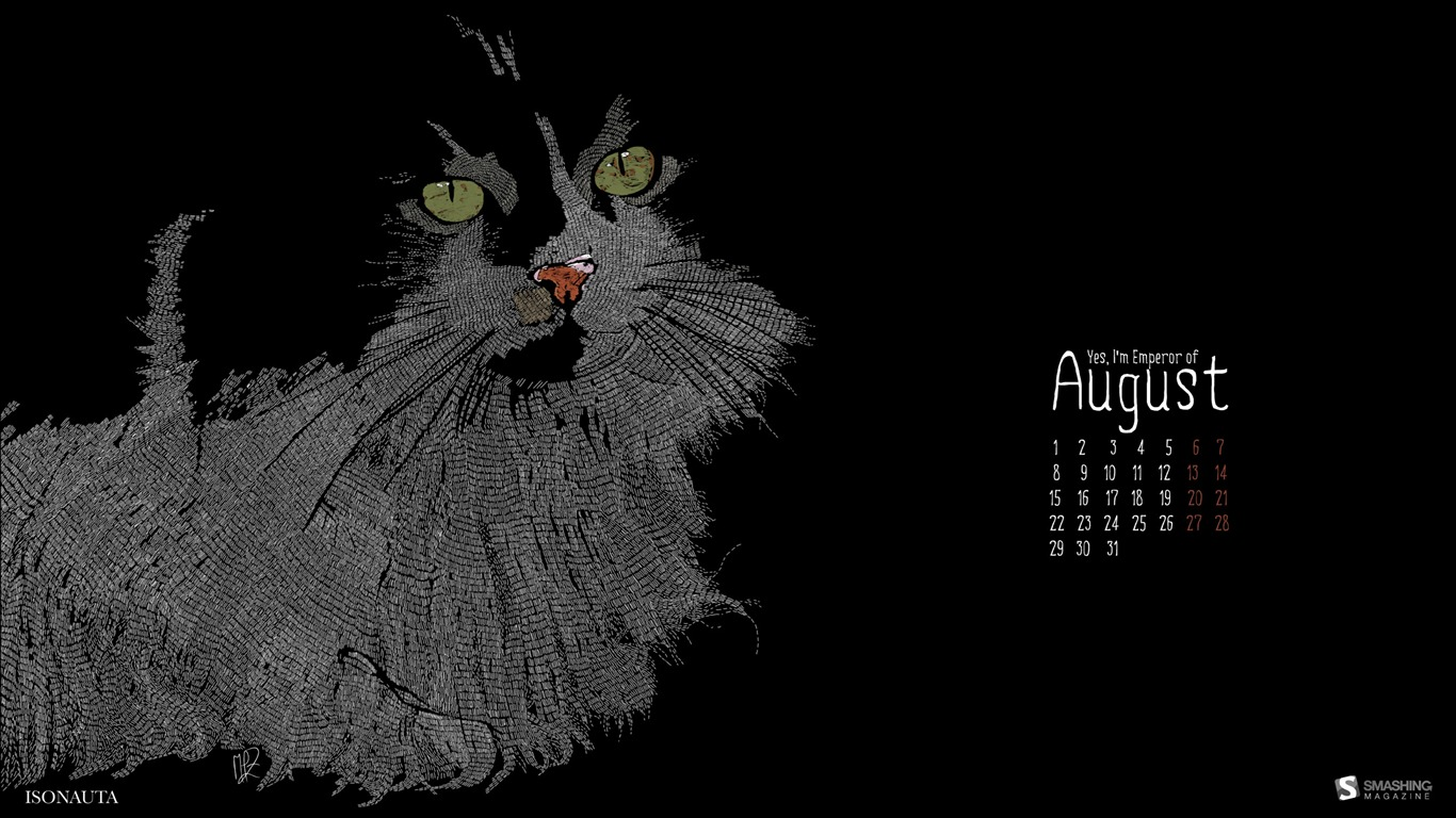 2011-august-wallpaper-Yes_I_m_Emperor2011.8.1
