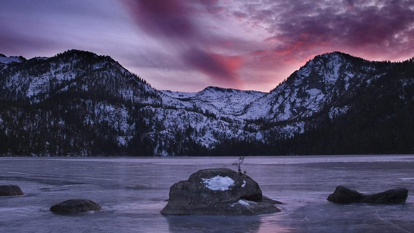Fondo De Pantalla De California Sierra Nevada Cascade Lake