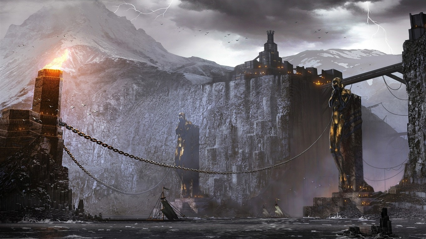 Dragon Age 2 Hd Game Wallpaper 15 Avance 10wallpapercom