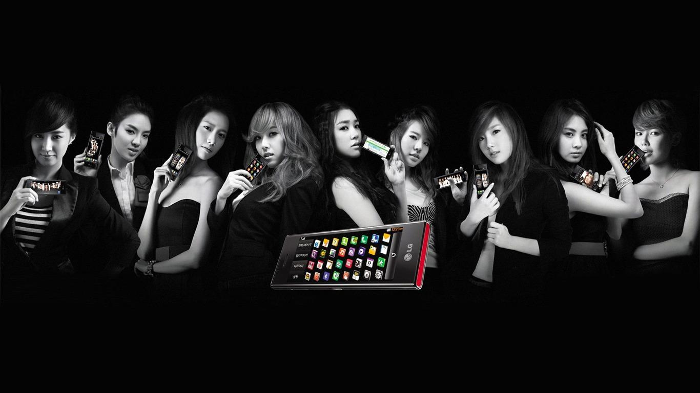 Korea Star Girls Generation Wallpaper 10 Preview