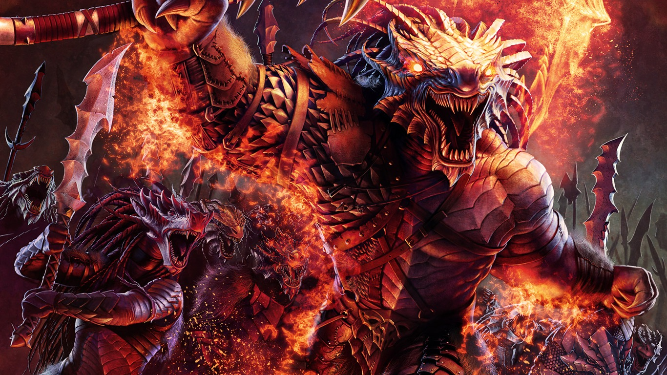 Design Savage Dragon Dark CG Illustration Wallpaper O Of Warcraft