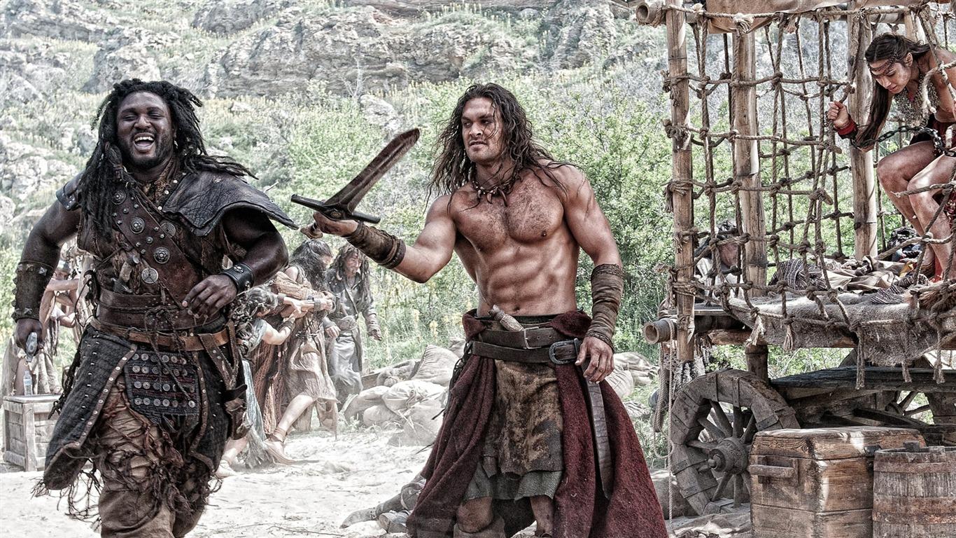 Fondo De Pantalla De La Película Conan The Barbarian 2011 14