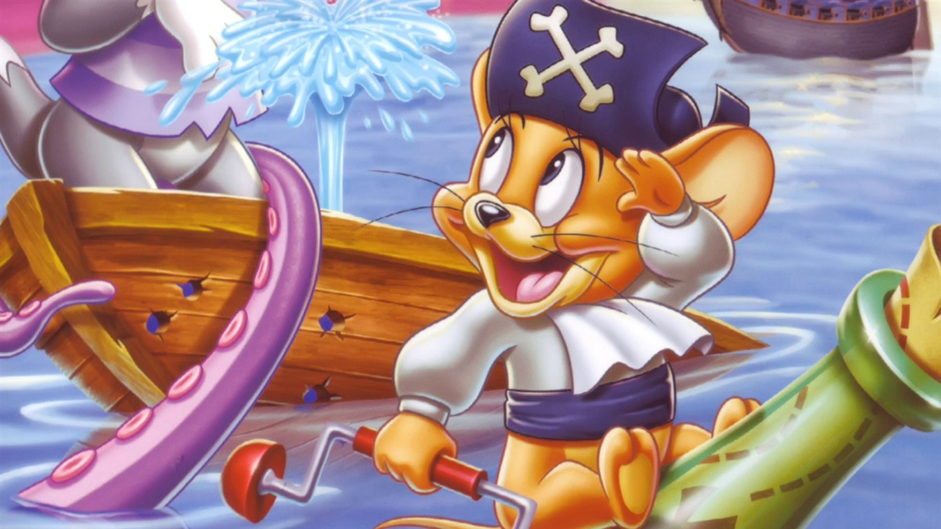 Disney Jerry Cartoon Character Hd Desktop Wallpaper