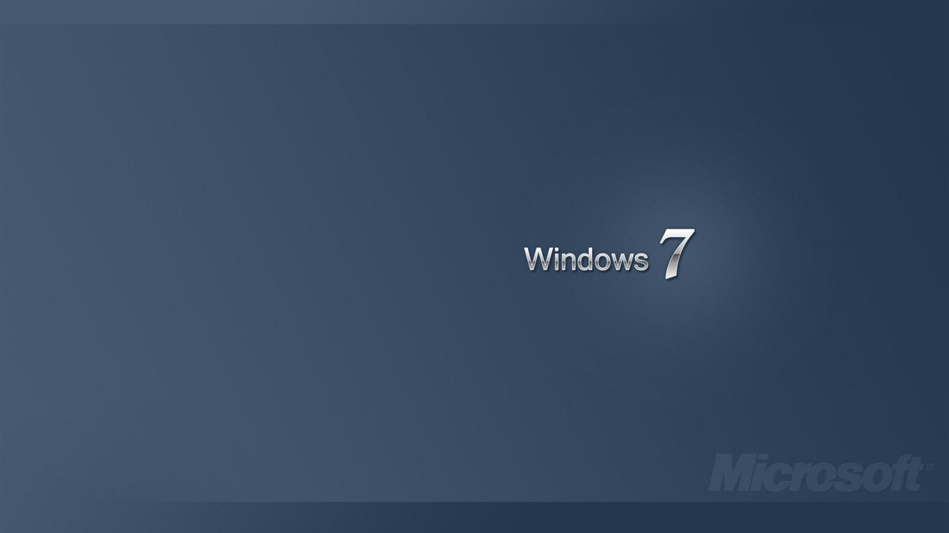 Windows 10 Desktop Backgrounds 1366 By 768: メタル Windows 7- ブランドの壁紙の選択プレビュー