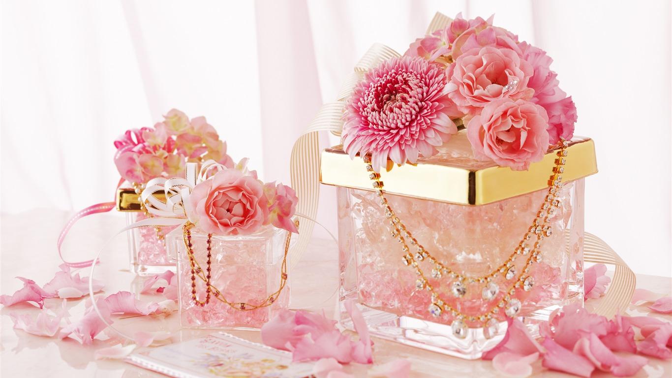 ピンクのバラ 9月花の壁紙プレビュー 10wallpaper Com