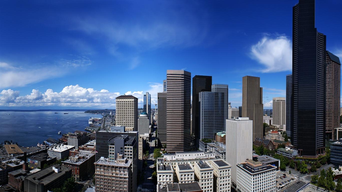 Seattle états Unis Wallpaper Photographie Sélectionné