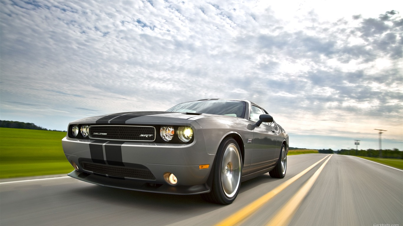 Silver car-Dodge Challenger SRT8 392 2012 models HD ...
