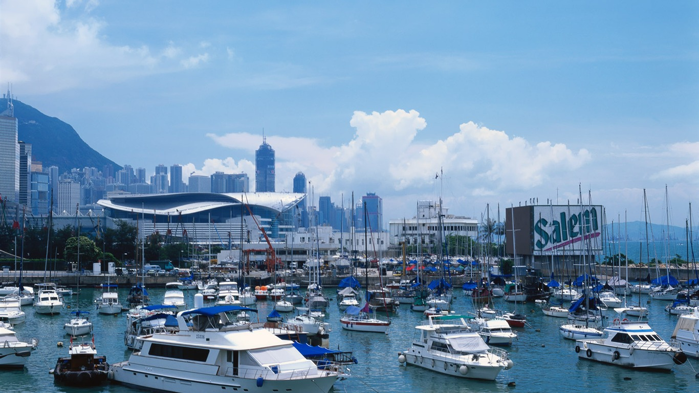 Wan_Chai_Ferry_Pier-Hong_Kong_landscape_wallpaper2011.9.19
