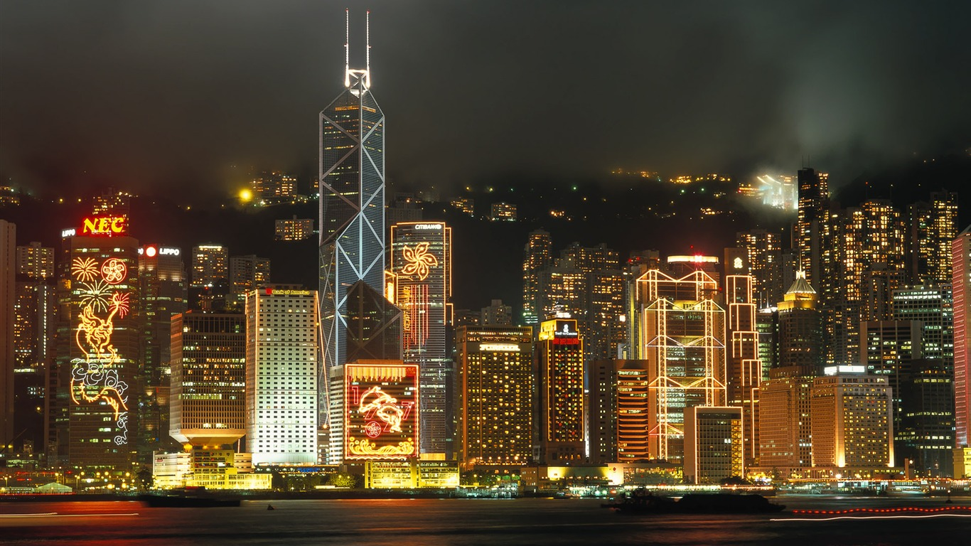 Waterfront_Night-Hong_Kong_landscape_wallpaper2011.9.19