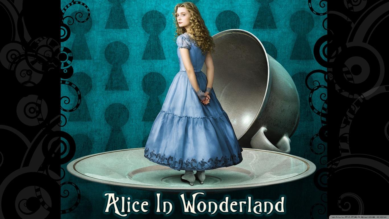 Alice Au Pays Des Merveilles Film Fond Décran Aperçu