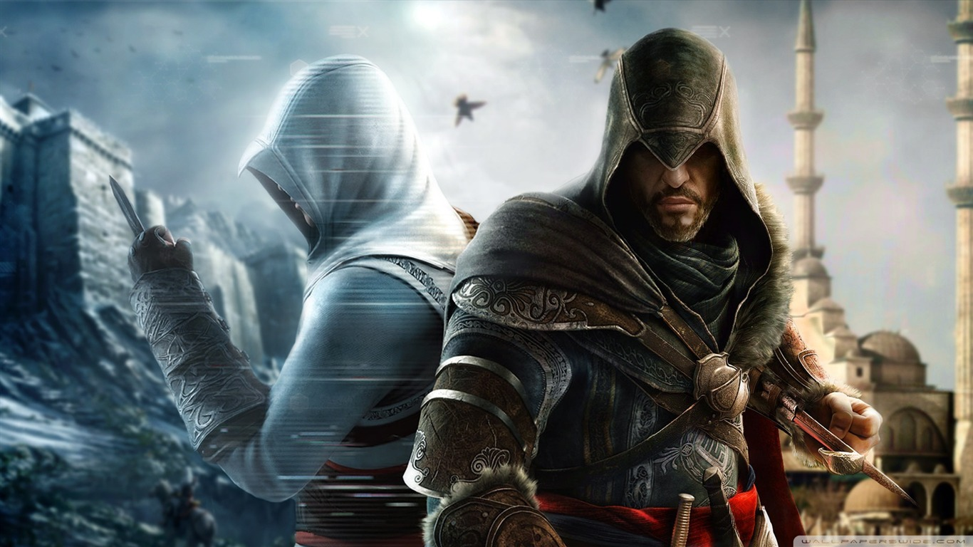 Assassin Creed Brotherhood Game Wallpaper 03 Avance
