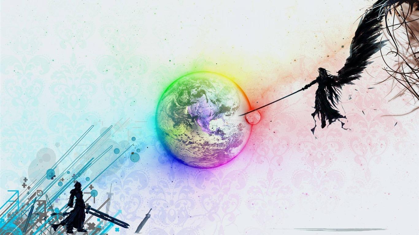 Fantasy Vii Advent Children Classic Game Final Fantasy Wallpaper