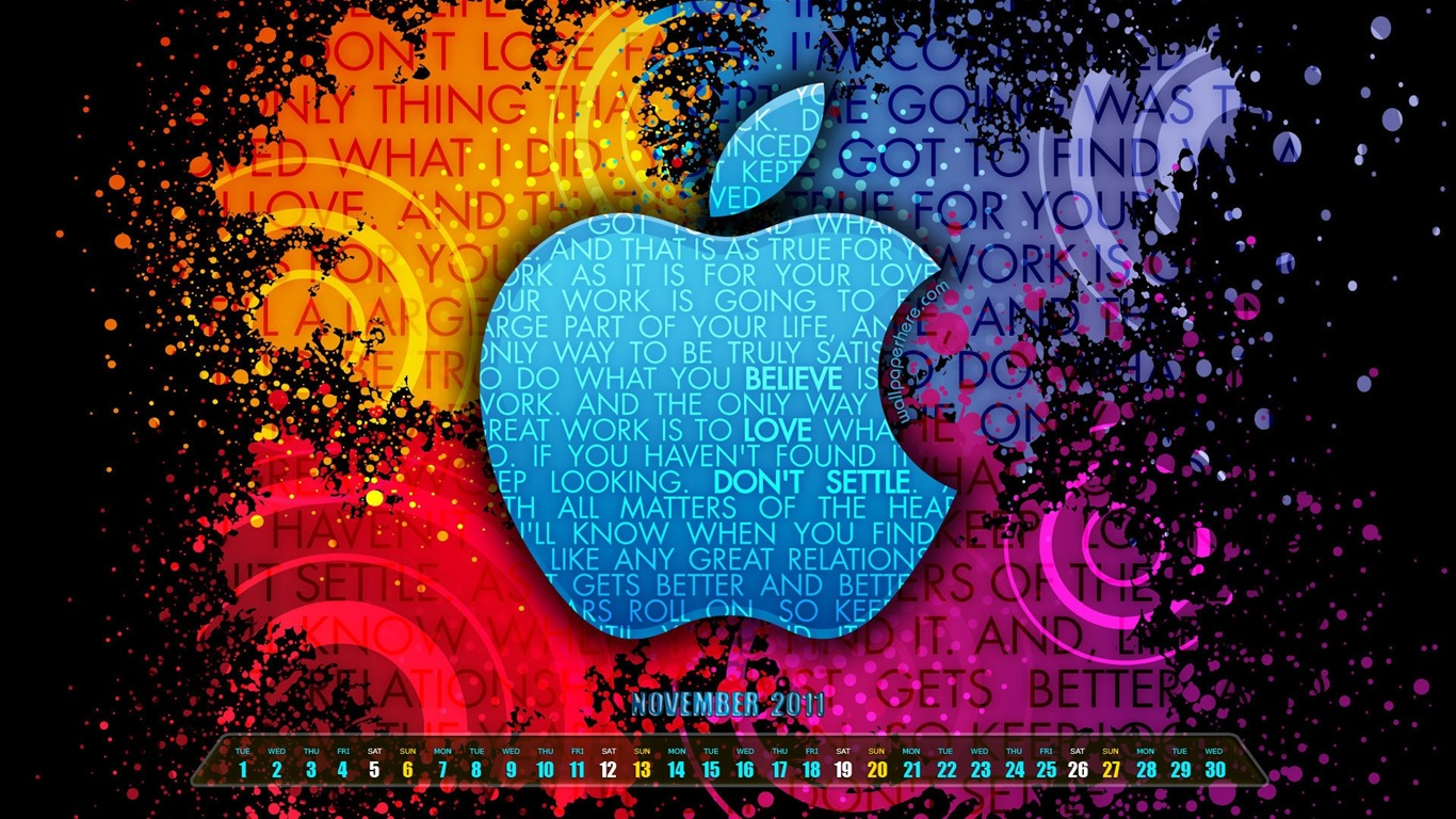 Steve Jobs Apple Noviembre De 2011 Fondos De Escritorio De