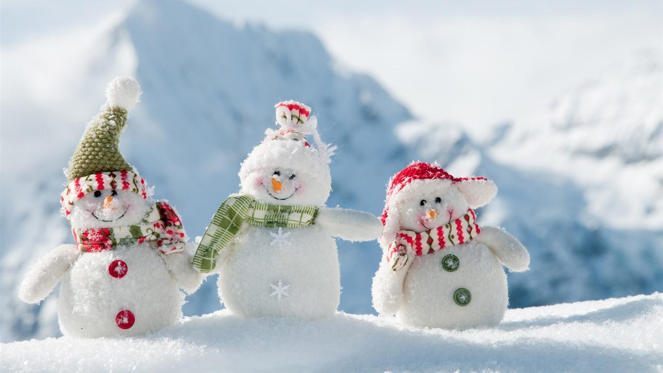 雪だるま デスクトップの壁紙の冬景色プレビュー 10wallpaper Com