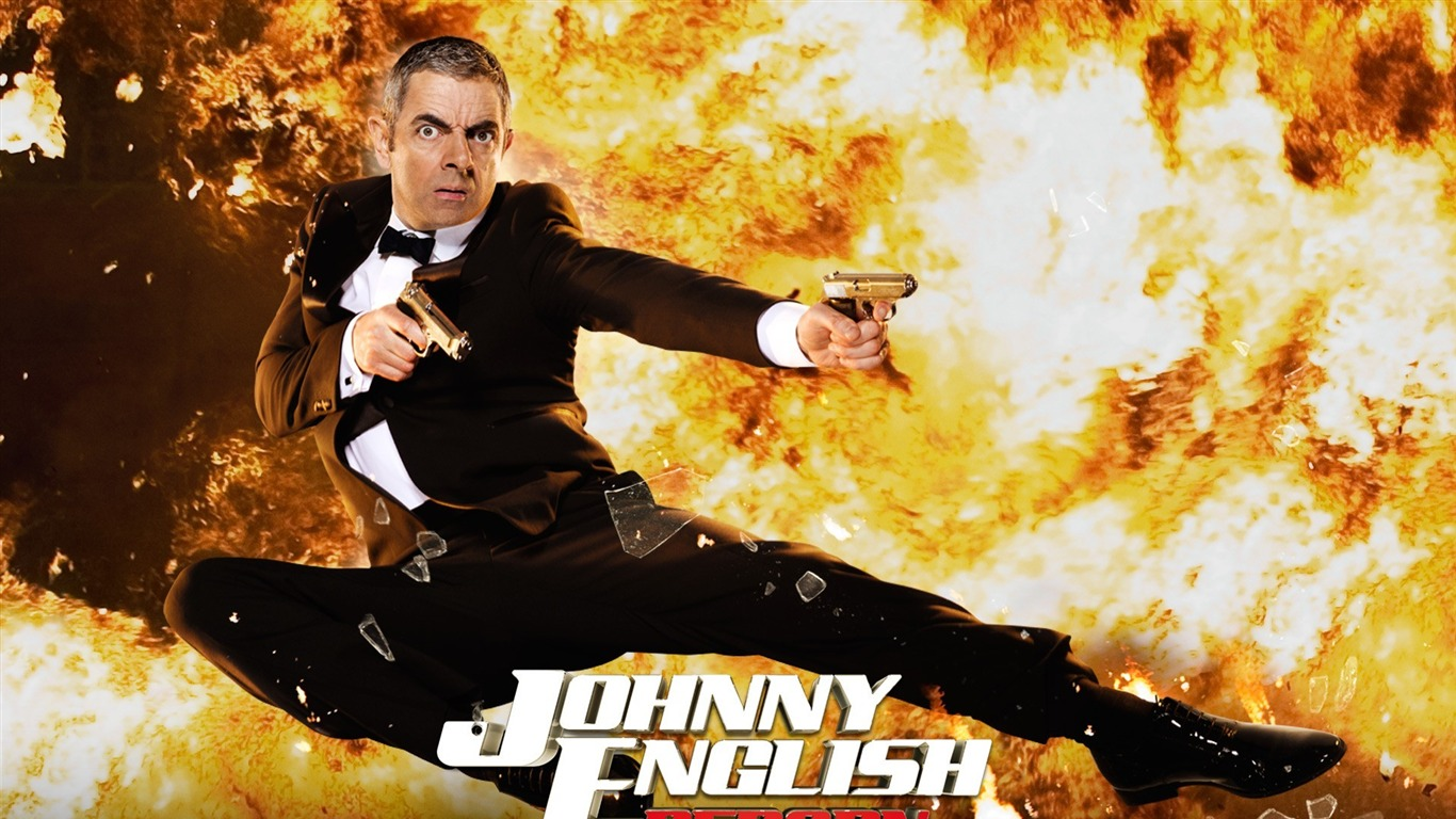 Johnny English Reborn Movie HD Wallpaper1366x768 Download