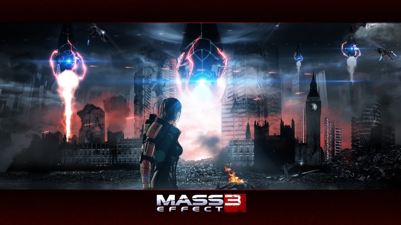 Mass Effect 3 Game Hd Desktop Wallpaper 10 Preview 10wallpaper Com