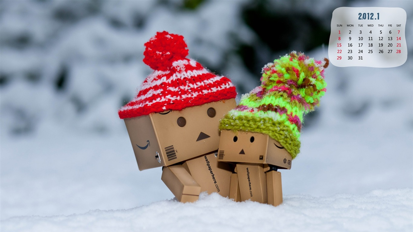 Danbo-January_2012_calendar_desktop_themes_wallpaper2011.12.30