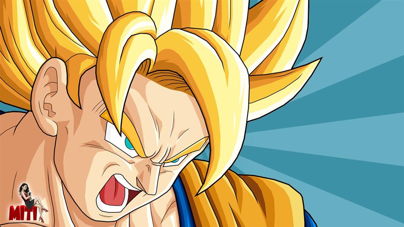 Goku Cartoon Characters Hd Wallpaper Preview 10wallpaper Com