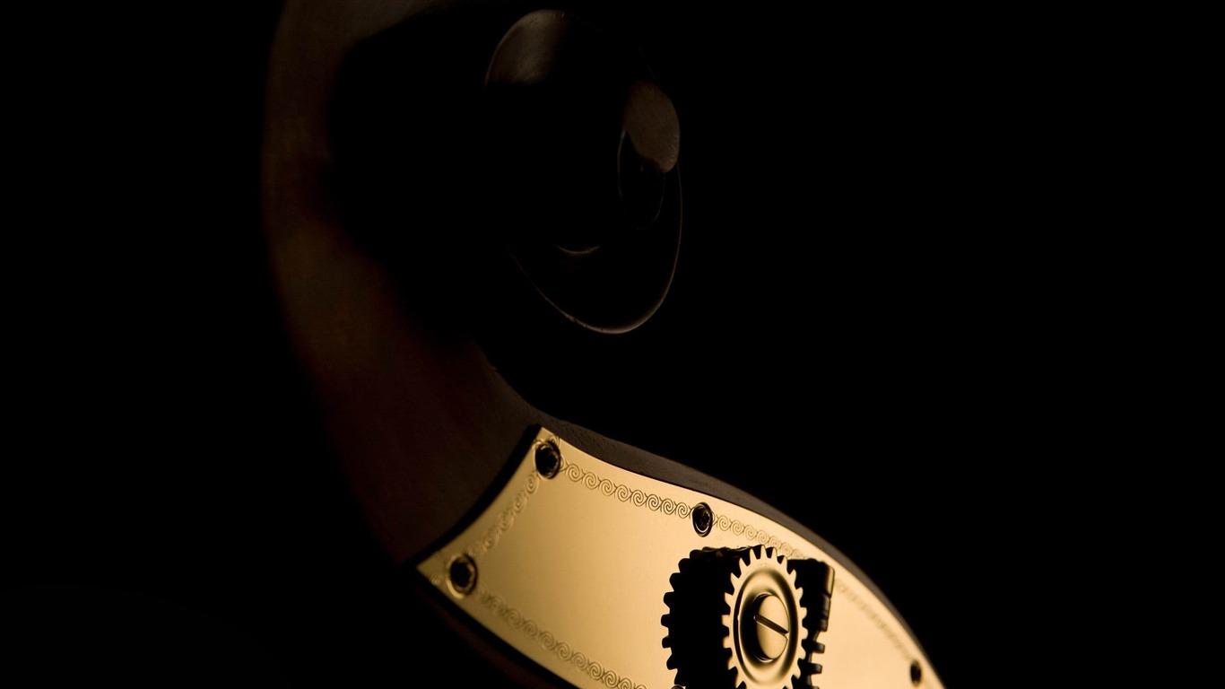 ダブルベースマシンはヘッド 音楽テーマの壁紙プレビュー