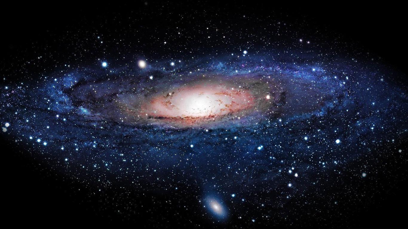 Galaxy space exploration secret theme desktop 1366x768 for Space wallpaper 1366x768
